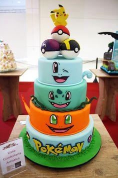 Resultado de imagem para bolo pokemon