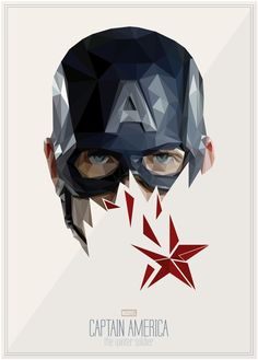 Captain America - The Winter Soldier by s2lart, via Behance