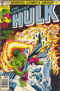 Incredible Hulk # 243 by Al Milgrom