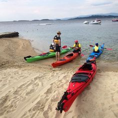 Sea kayaking with our guide Chris Coyle! Kayaking Trips, The Outsiders, Boat, Island, Explore, Instagram Posts, Block Island, Boats, Islands