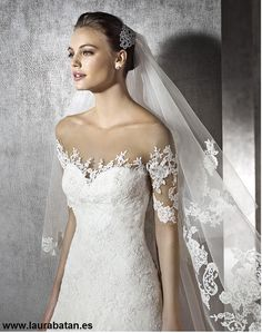 FTW Bridal Wedding Dresses Wedding Dresses Online, Wedding Dress Plus Size, Collection features dresses in all styles as well as more traditional silhouettes. Customize your bridal gown now! Illusion Neckline Wedding Dress, Lace Wedding Dress, Wedding Dresses Plus Size, Bridal Wedding Dresses, Bridal Lace, Wedding Bride, Bateau Neckline, Lace Dress, San Patrick