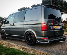 Oommf! Vw Transporter Conversions, Vw Camper Conversions, Vw Transporter Van, Vw T5 Campervan, Vw T4, Car Volkswagen, A Team Van, Vw Caravelle, Aston Martin Cars