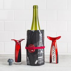Open, cool and preserve your wine with this Trudeau Wine Gift Set. The stylish, modern corkscrew, wine cooling freezer bag and wine pump and stopper make this a great gift for any time of the year. Knife Block Set, Bar, Bakeware, Kitchen Gadgets, Preserves, Freezer, Cookware, Pump, Great Gifts