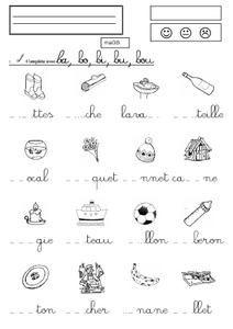 syllabes avec m | maelie | Syllabes, Lecture cp, Exercice ...