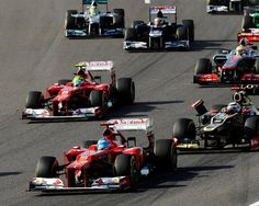 Fernando at race start but out in Lap 1 of Japanese Grand Prix Formula 1™ - The Official F1™ Website