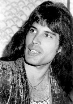 Freddie Mercury in Japan, 1975. (I think this is the same tour with Mott the Hoople)