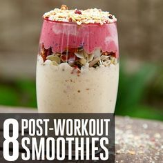 8 Supercharged Smoothie Recipes To Try Right Now Upgrade your post-workout drink with these creative options. Healthy Smoothies, Healthy Drinks, Smoothie Recipes, Healthy Snacks, Healthy Eating, Healthy Recipes, Vitamix Recipes, Fodmap Recipes, Post Workout Drink