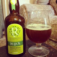 Renaissance Brewing's Marlborough Pale Ale (MPA) Imperial Pale Ale - 8.5% abv. This Kiwi ale uses New Zealand Rakau hops.