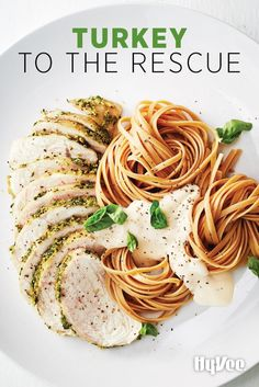 Turkey isn't just for Thanksgiving. Roast whole bone-in turkey breasts and use them in quick weeknight dishes. Such a time saver.