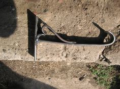 Metal plant hookhanging plant hook by MuddyRiverIronWorks on Etsy, $20.00