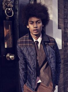 Men with Natural Hair | Sporty Afros