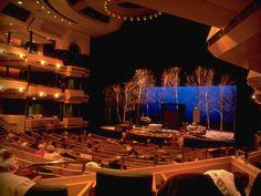 Max Bell, Calgary. TPC's first North American flexible proscenium theatre