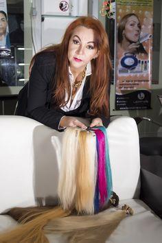 Interesante trabajo periodístico sobre la exitosa estilista y empresaria venezolana Lorena Ríos quien comercializa EXTENSIONES DE CABELLO. rpintopress.wordpress.com
