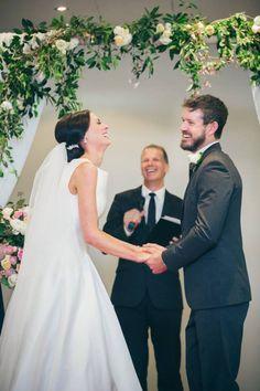 Couple Laughing Duri Couple Laughing During Wedding Ceremony Wedding Weddingday Vows Bride Groom Wedding Ceremony Script White Wedding Ceremony Ceremony
