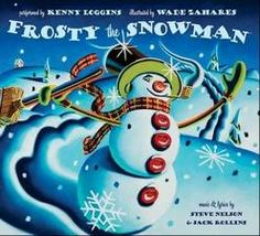 """""""Frosty the Snowman,"""" illustrated by Wade Zahares, includes a three-track CD that includes a song by Kenny Loggins."""