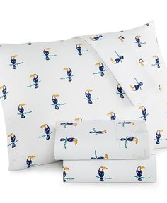Martha Stewart Whim Collection Novelty Print 200 Thread Count Percale Sheet Sets, Only at Macy's - Sheets - Bed & Bath - Macy's