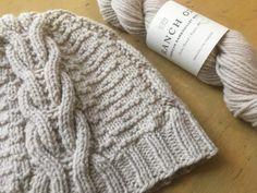 On our needles: Brooklyn Tweed Ranch. | Hillsborough Yarn Shop