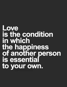 Love is conditions