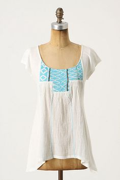 Silver City Top by A Common Thread