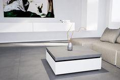 Betoncouchtisch Divano // von www.arrangio.de  #couchtisch #beton