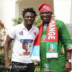 Obafemi shows support for Lagos State APC Gov aspi...