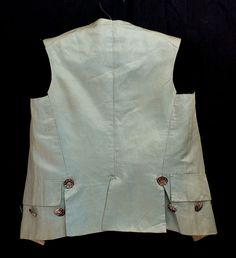 French boy's silk waistcoat and breeches, c.1800-1820