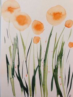 "Watercolor, watercolor postcard ""meadow flowers"" flowers, x cm, unique in … - Art Painting Watercolor Postcard, Watercolor Bookmarks, Abstract Watercolor, Watercolor Flowers, Watercolour Painting, Watercolors, Watercolor Paintings For Beginners, Watercolor Projects, Poster Photo"