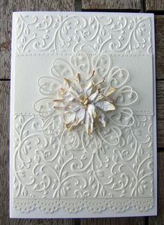 Ravn Design: Hvidt kort og gæstebog fra min 50-års fødselsdag