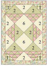 Kaye England's Kaye's Cottage Quilt Pattern
