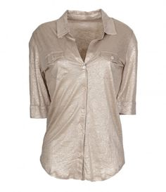 Chemise Lin Gold - MAJESTIC