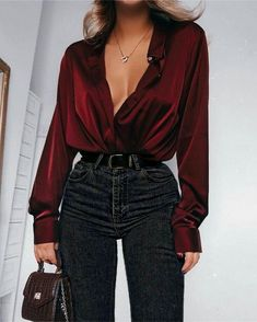 Glamouröse Outfits, Cute Casual Outfits, Stylish Outfits, Fall Outfits, Summer Outfits, Fashion Outfits, Womens Fashion, Fashion Shirts, Evening Outfits