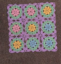 Lacy Flower  FREE pattern by Lois Olson
