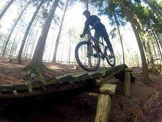 Sunny/Gnarly day out at Watchmoor Bike Park in Dorset. U.K.