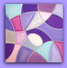Abstrakte Malerei Original Acryl Kunst bildende Kunst