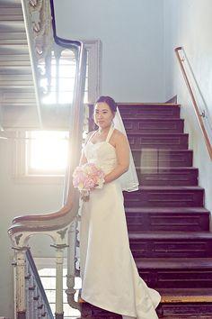 Bridal Portraits Wedding at Snug Harbor Botanical Gardens Tricia LaPonte Photography