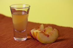 This simple version of peach liqueur is quite tasty and produces a delicious result every time.