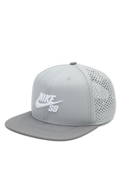PacSun presents the Nike SB Performance Trucker Hat. This unique cap comes with a raised Nike SB logo sewn on front of a solid color base.%09Nike SB logo on front%09Raised embroidery%09Stiffened front%09Mesh back%09Adjustable snapback with logo loop%09Flat bill%09One size fits most%09Spot clean%09100% polyester%09Imported