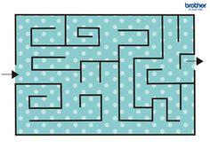 Maze #free #printables for #backtoschool #DIY #classroom fun #kidsgames