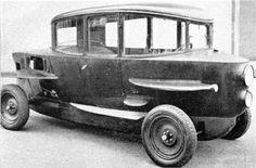 Rumpler Tropfenwagen, 1921