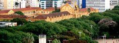 """Uma foto maravilhosa! Poucos já observaram o Colégio Militar de Porto Alegre """"de cima"""", eu vi e registrei! =)"""