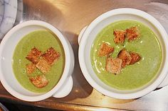 Spinat-Erbsen-Suppe