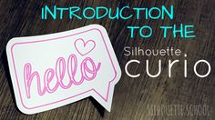 Silhouette Curio for beginners a great first Silhouette Curio project