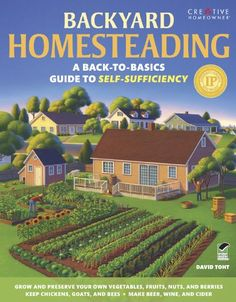 BACKYARD HOMESTEADING addresses the needs of many people who want to take control of the food they eat and the products they use--even if they live in a urban or suburban house on a typical-size lot.