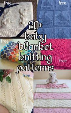 Baby Blanket Knitting Patterns, many free patterns