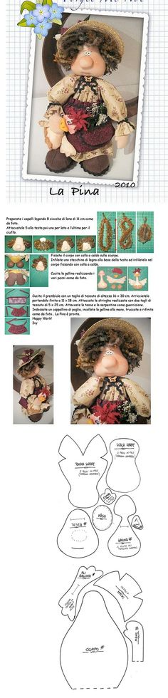 Doll Patterns Free, Doll Clothes Patterns, Puppet Tutorial, Fabric Toys, Crafts To Make And Sell, Sewing Dolls, Stuffed Animal Patterns, Soft Dolls, Doll Crafts