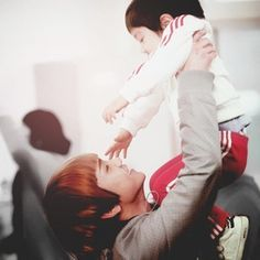 Aww Key and Yoogeun. Loved this season of Hello Baby.