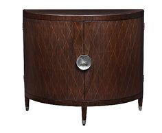 Bloomingdale's Savoy Demilune Side Chest by Curate Home Collection