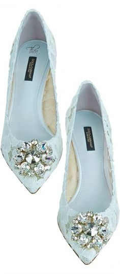 Wedding Ideas By Colour: Blue Wedding Shoes | CHWV