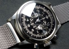 40's Anonymous SS water proof Chronograph
