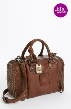 Birthday gift to myself ;)  Frye 'Brooke Speedy' Leather Satchel, Small (Online Only) available at #Nordstrom